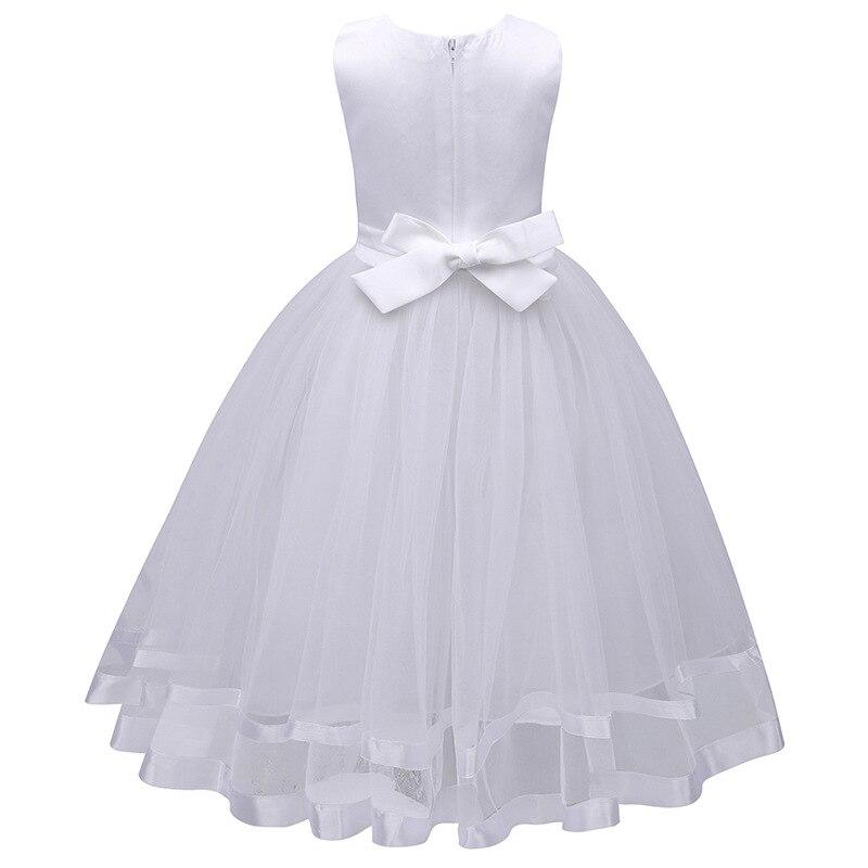 Hot Selling Children Dresses Girls Princess  Flower Sleeveless dresses  Baby Girls Party Princess Dress Children Kids Clothes<br>