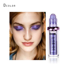2016 lastest singel color Pigment Shimmer mineral eyeshadow powder pencil purple white golden color eye makeup highlighter VC001