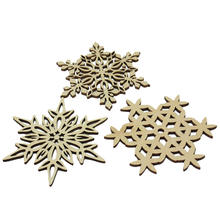 3x Snowflake Design Cork Coasters 0.4cm Thickness Drink Coffee Tea Cup Mat Pad For Kitchen Table Decor
