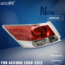 ZUK Brand New Left Right Tail Light Tail Lamp Rear Light Brake Light For HONDA ACCORD CP1 CP2 CP3 2008 2009 2010 2011 2012(China)