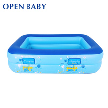Baby Swimming Pool Eco-friendly PVC Portable Children Bath Tub Kids Mini-playground 110X90X35cm Baby Inflatable Pool For Summer(China)