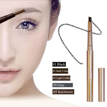 1PC Pro Automatic Waterproof Gold Eye Brow Eyeliner Eyebrow Pen Pencil Makeup Cosmetic Design Tool
