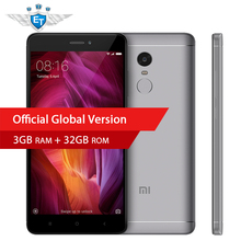 Global Version Xiaomi Redmi Note 4 Qualcomm 3GB 32GB Smartphone Snapdragon 625 Octa Core 13.0MP Camera Fingerprint Support OTA