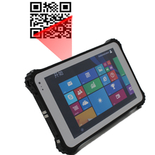 barcode windows 8 inch rugged tablet pc, industrial panel pc