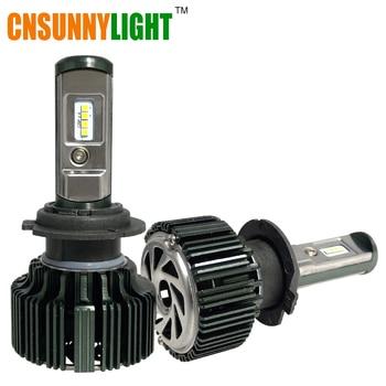 Cnsunnylight coche llevó kit de faros h1 h7 h11 9005 9006 h3 HB3 HB4 8000Lm CSP Chips 6000 K Blanco Auto Faros de Niebla Bombillas luces