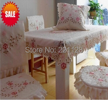 Home Deco Embroidery Table Cloth,Dish Placemat,Chair Cover