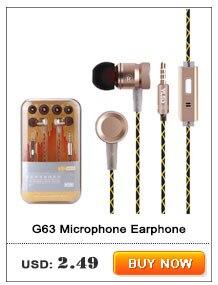Original URBANFUN 3.5mm In Ear Earphone With Microphone 1DD With 1BA Hybrid Drive Voice Control HIFI Earphone Earplug For Phones