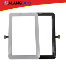 ALANGDUO Screen Replacement for Samsung Galaxy Tab 2 7.0 P3100 Touch Screen Digitizer 3G & Wifi Version Black White 10pcs DHL