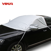 2017 Universal Car Snow Shield Anti-UV Snow Protection Covers Car Cover Sunshade Styling Waterproof Suitable For 99% Car And SUV(China)