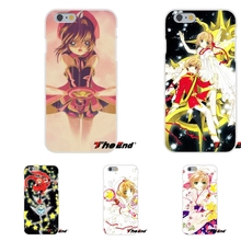 Cute Anime Cardcaptor Sakura Japan Silicone Cell Phone Case For Samsung Galaxy S3 S4 S5 MINI S6 S7 edge S8 Plus Note 2 3 4 5