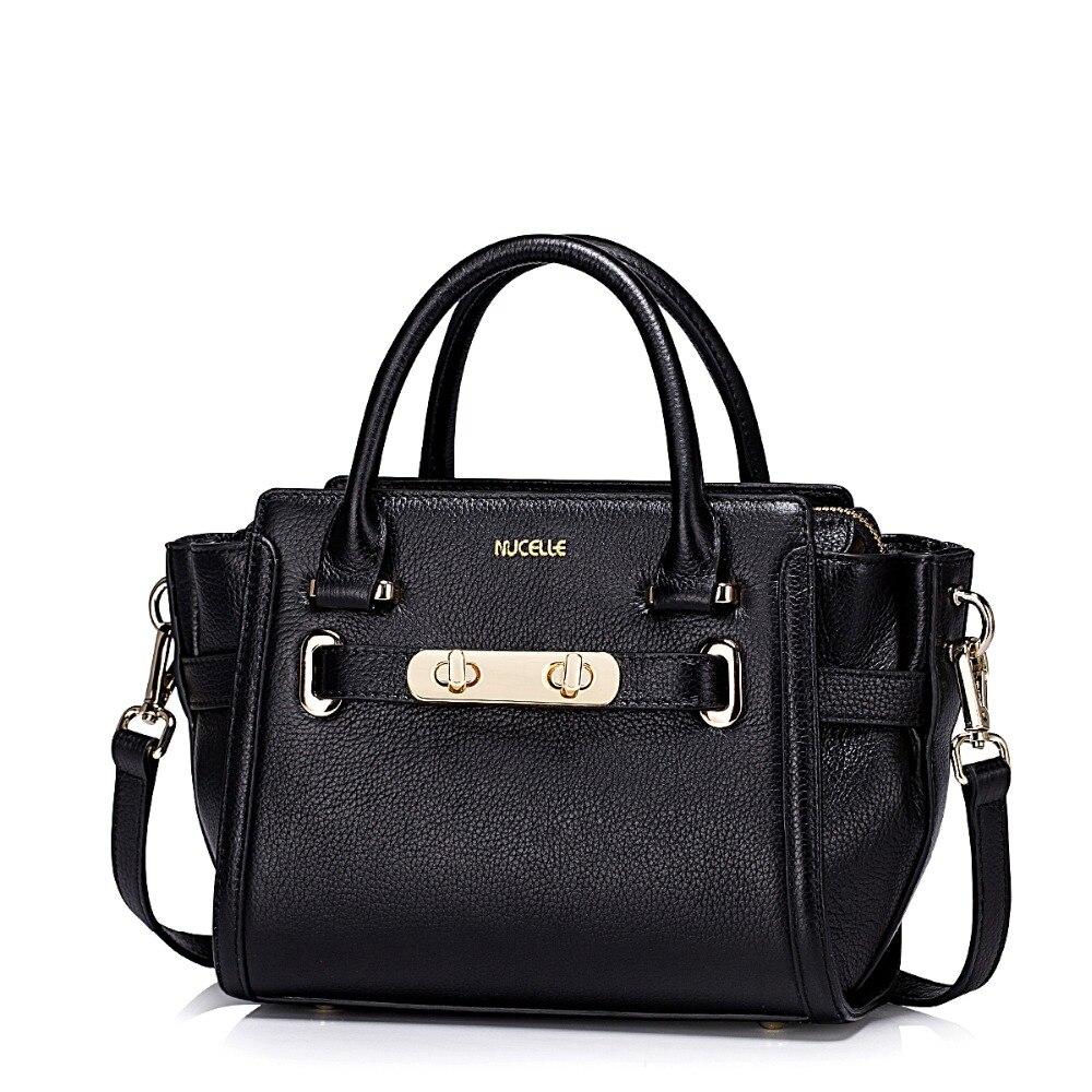 2016 New Fashion Womens Genuine Leather Trapeze Top Handle Tote Handbag Shoulder Bag Causal Crossbody Bag Satchel Purse<br><br>Aliexpress
