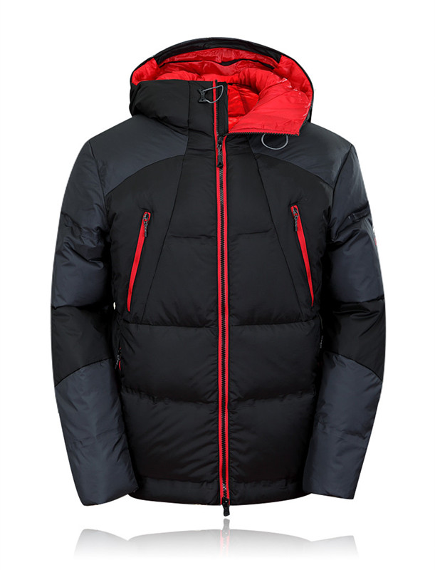 2018 Mens Hooded Duck Down Jackets Coat Mens Down Jacket Winter Parkas Couple Clothes Warm Outwear Overcoat