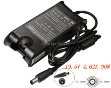 90W Adapter  For DELL Inspiron 1501 1520 1521 1525  1720 300m 500m 19.5V 4.62a 7.4*5.0mm laptop Adapter