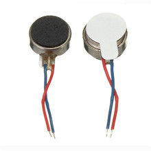 1x Coin Flat Vibrating Micro Motor DC 3V 8mm For Pager and Cell Phone Mobile Top Quality Dcore Tool Tools Wholesale price(China)