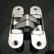 Three-dimensional Hidden Door Hinge Adjustable Hinges load 110*30mm 50kg 2PCS