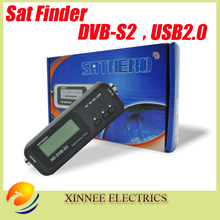 Digital Sathero SH-100HD Pocket Pocket Finder Digital Satellite Finder Satellite Meter HD Signal Sat Finder DVB-S2 USB 2.0(China)