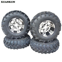 XUANKUN Four Rounds Of Beach Car Self-Modified Karting 25X8-12 25X10-12 Inch Tire Wheel Assembly(China)
