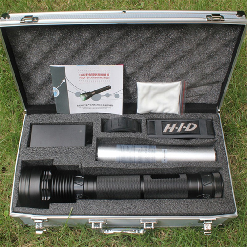 HID flashlight