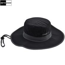NORTHWOOD  alta calidad sólida secado rápido sombreros para hombres verano  pesca mujeres Bucket Cap transpirable plana sombrero. f5d1fe81c75
