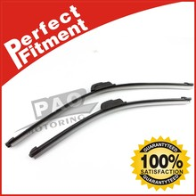 "Pair 19""& 21"" Inch Wiper Blade J-Hook For Nissan Mazda VW H All Season OEM Car Window Windshield Front"