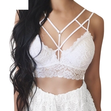 Buy JAYCOSIN Womens Sets Fashion Sexy Women Floral Bralette Bustier Crop Top Bra Shirt Vest Underwear Applique DropshipingJuly24