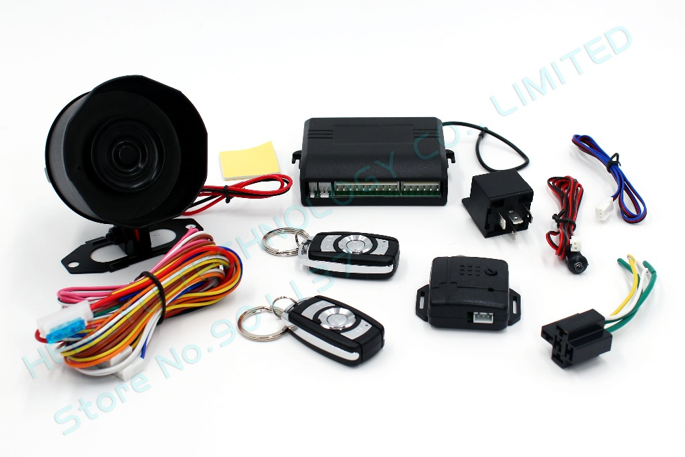 2018 12v One Way Car Alarm Security System Central Door Locking. Wiring. Car Alarm Wiring One Wire At Scoala.co