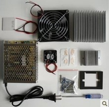 cooling system learning packages Thermoelectric Cooler Peltier TEC1-12706 kit Cold plate refrigeration space cooling study kit(China)