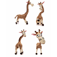 "1PCS Hot Selling 12"" 35CM Long Neck Giraffe Stuffed Plush Toy Cute Deer Doll for Kids High Quality Stuffed Toys"