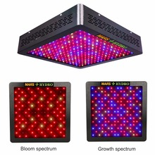 Mars Hydro MarsII 1200 LED Grow Light Full Spectrum,Hydroponic equipment for Medical Plants Veg and Bloom Fruit(China)