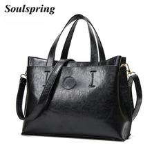 Brand Pu Leather Bags Women Designer Handbags High Quality Shoulder Bag Woman Fashion Ladies Hand Bags Black Tote Bags New Sac