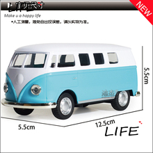 Hot Sale Alloy Public Transportation For Kids Toys Wholesale Metal Public Bus Models Four Color Choose 1:64 Hot Sale