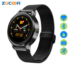ZUCOOR Smart Watch Montre Connecter Men's Relogio F1 Mobile Phone Remote Camera Horloge Watches Heart Rate Monitor Alarm Clock