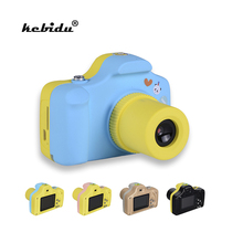 kebidu New Cute Mini Kids Digital Camera Children 1.0MP 1.5 inch Shoot LSR Cam Take Picture For Baby Birthday Christmas Gift(China)
