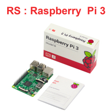 UK Made Raspberry Pi3 Model B 1GB 1.2GHz 64bit Quad-Core CPU WiFi & Bluetooth Raspberry Pi3 Board  RS Version Free Shipping