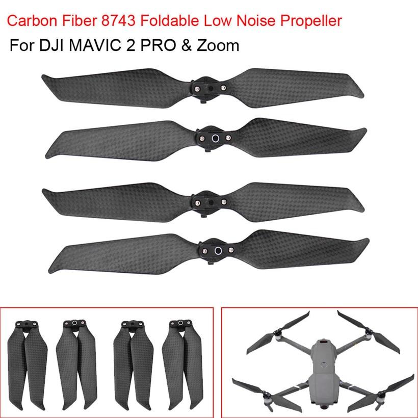 Propeller Folding Folded For DJI Mavic 2 Pro Mavic 2 Zoom 2//4pcs Props Classic