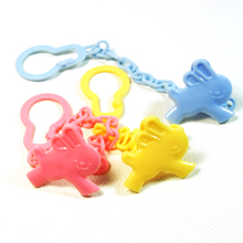 High Quality Baby care Pacifier Clip Baby Dummy Chain Feeding Product Animal Cartoon Baby Pacifier Anti lost Chain Accessories(China)