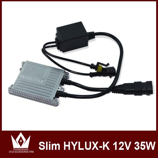 Guang Dian Free Shipping Hotsale Car Slim Canbus HID Xenon Conversion canbus Ballast 35W HYLUX-K silver slim ballast<br><br>Aliexpress