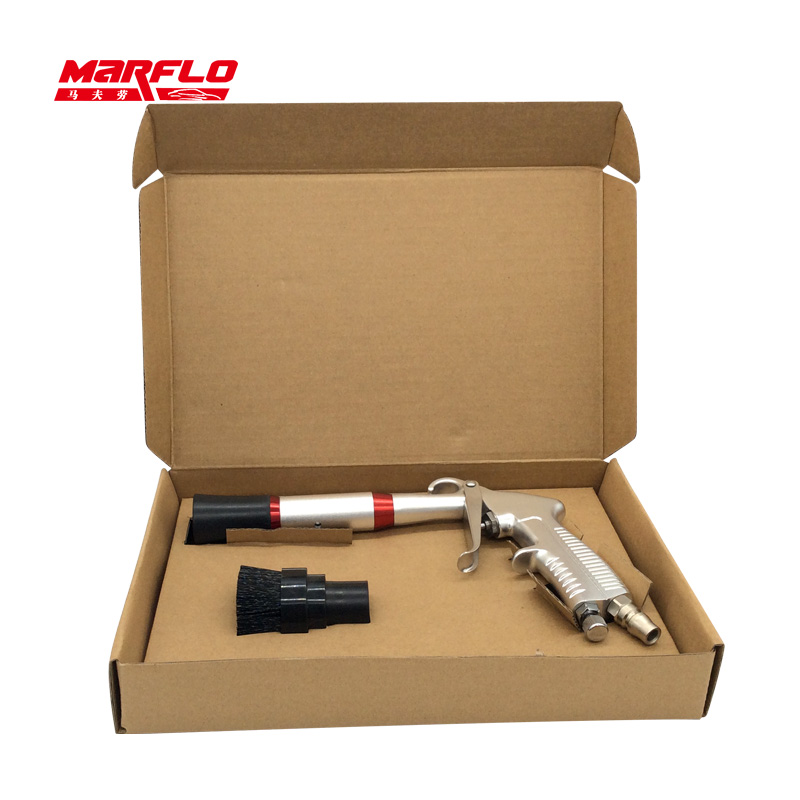MARFLO Cleaning-Gun Car-Wash-Tools Tornador Pneumatic Black Dry-Preto High-Quality title=