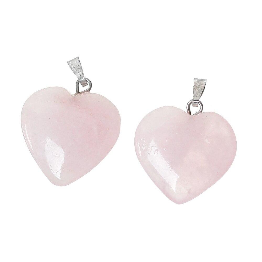 Doreenbeads-Chaude-Mode-Femmes-Grade-B-cr-Rose-Gem-Pierre-Charme-Pendentifs-Coeur-Rose-Bijoux-Cadeau (2)