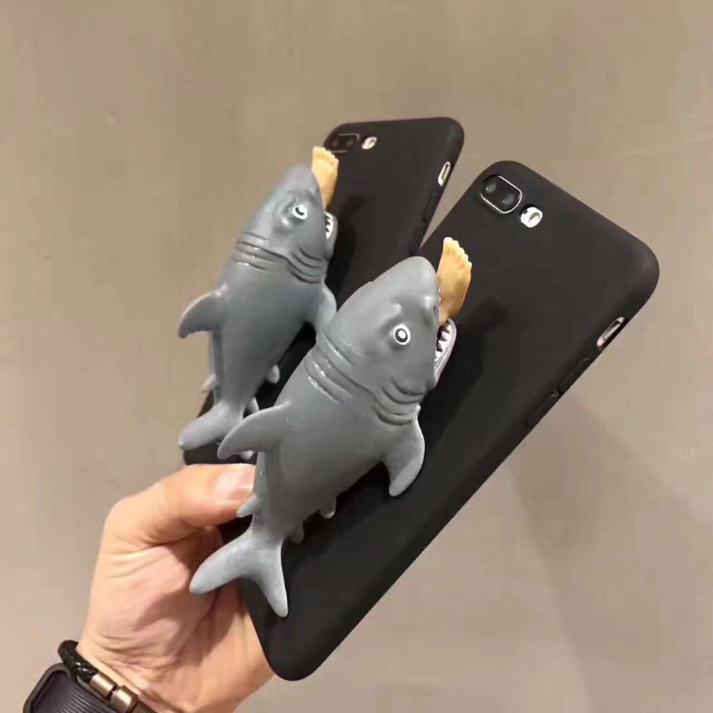 """IeatYou"" Funny Shark Phone Case 3D 1"