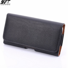 Phone Cases iPhone 6s Case 6 iPhone 7 Case 7 Plus Black Holster Leather Belt Clip Cover Xiaomi Redmi Note 5 3 Cases