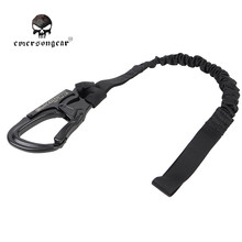 Emerson Army Military Equipment Airsoft Paintball Shooting Quick Release Save Sling Strap Combat Tactical Safety Lanyard EM8891