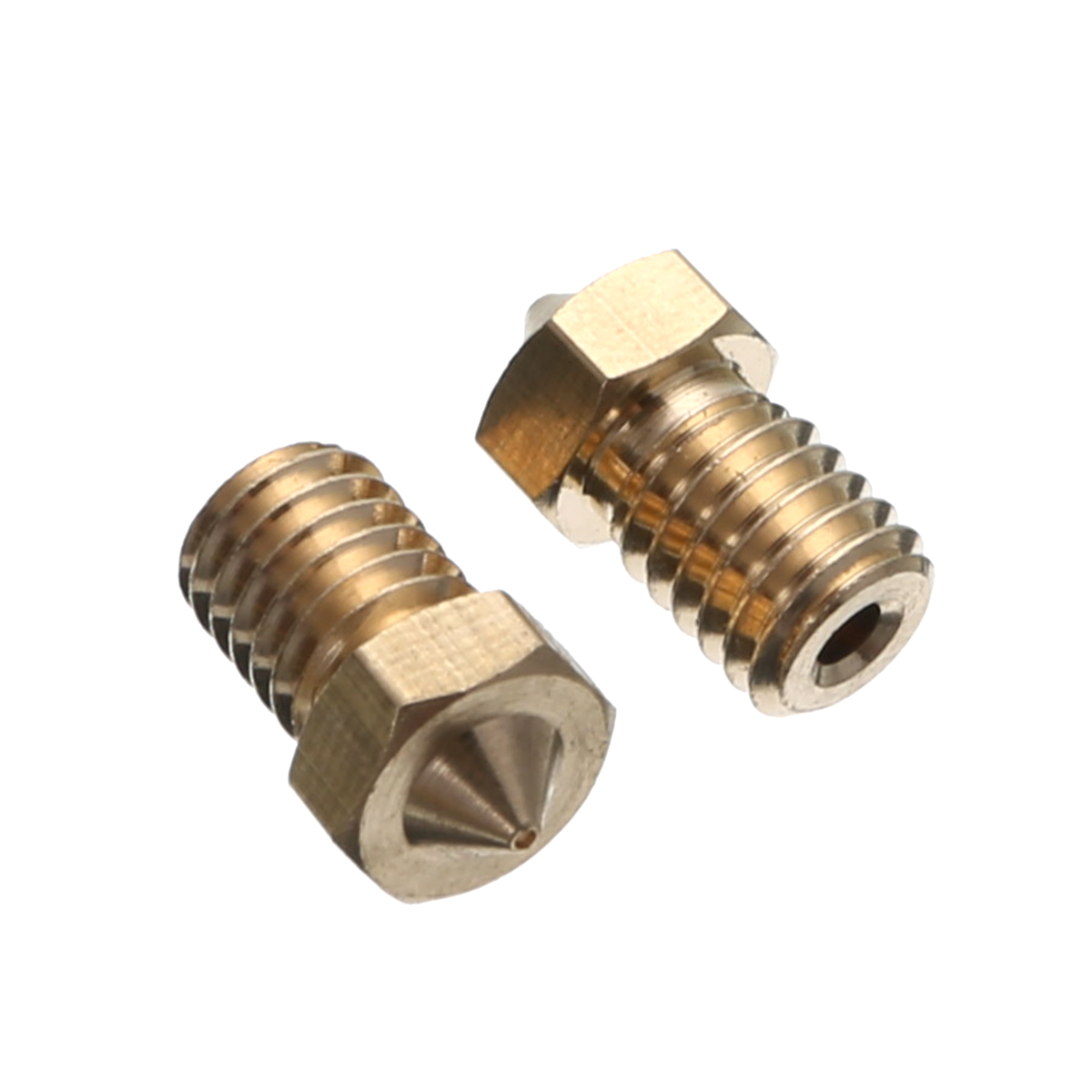 Mayitr 9pcs 1.75mm Filament Extruder Nozzle E3D Printer Nozzle Set for E3D V6 J-Head&MK8 Makerbot 3D Printer Part
