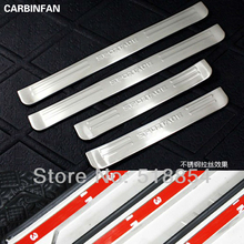 High Quality Stainless steel Door Sill Scuff Plate protector step cover For 2005 2006 2007 2008 2009 2010 KIA Sportage(China)