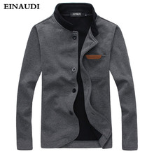 EINAUDI 2017 New brand Man Jacket Sping & Autumn High Quality Pocket Decorated Casual Jackets Outdoors Fashion Men Coat Clothing