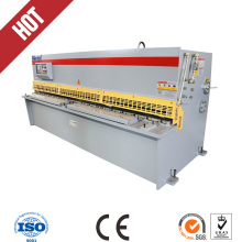 hydraulic swing beam steel plate shearing machine with low cost(China)