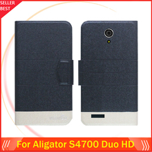 5 Colors Factory Direct!! Aligator S4700 Duo HD Case Dedicated Flip Fashion Luxury Leather Protective 100% Special Phone Cover
