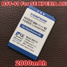2800mAh BST-41 BST 41 Battery for Sony Ericsson XPERIA A8i Battery M1i X1 X2 X10 X1a X2a Play Z1i X10i Phone