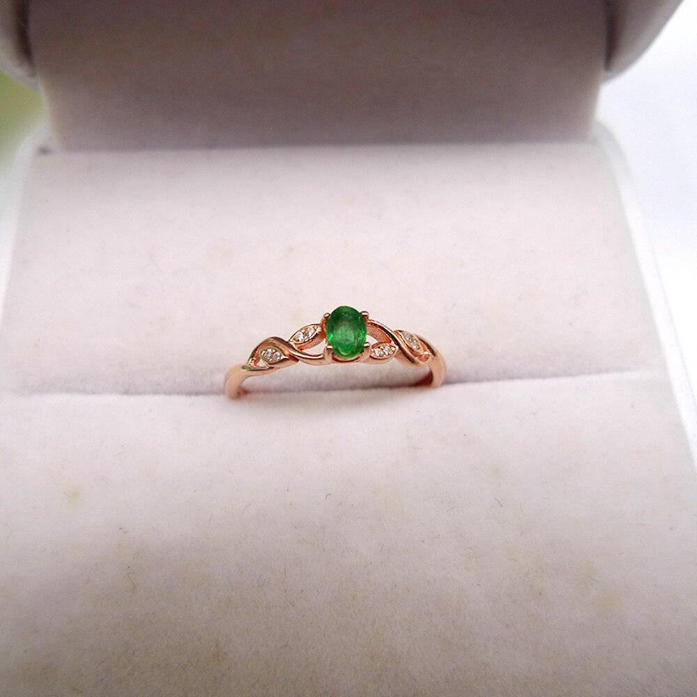 natural emerald rings women