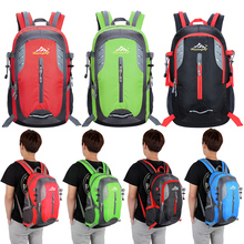New Outdoor Nylon Travel Backpack Sports Should Bags Hiking Camping Backpacks Mountaineering Bag Tactical Backpack 35L